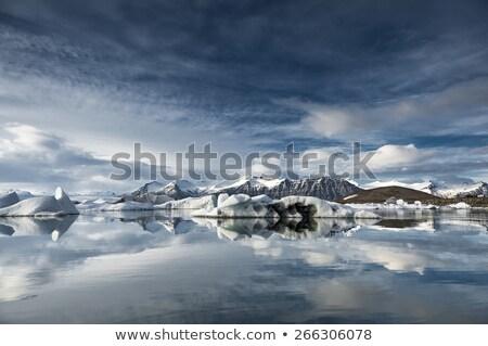 большой озеро юго-восток льда бизнеса воды Сток-фото © michaklootwijk