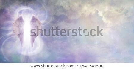 Kosmisch voogd majestueus herten lang Stockfoto © psychoshadow