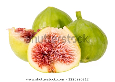 fresh green fig stock photo © m-studio