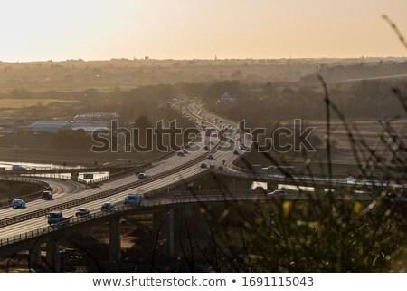 Sunset Across Sussex Stock photo © suerob