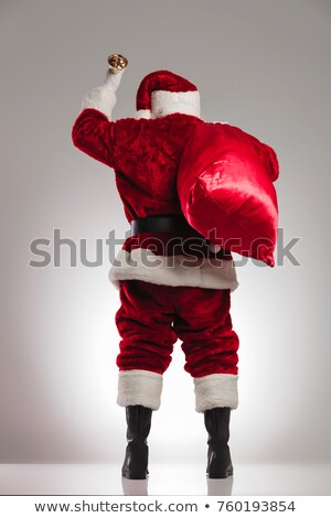 Santa Claus Rear View Stock photo © derocz