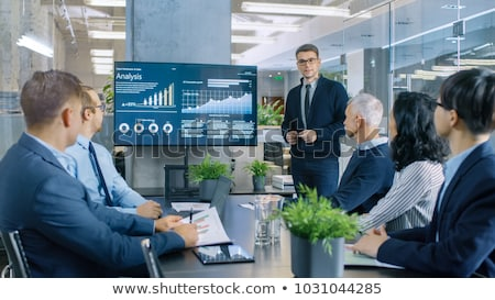 presentation in meeting room Stock photo © IS2