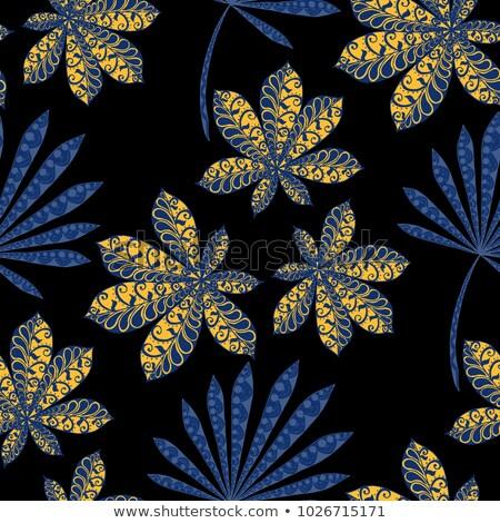 Verde cannabis nero albero erba Foto d'archivio © popaukropa