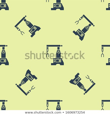 Production system. Control Panel seamless pattern. Background of Stock photo © popaukropa