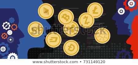 digitale · valuta · soldi · scambio · vettore · ripple - foto d'archivio © robuart