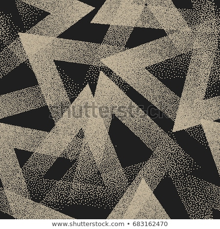 geometric pattern with grunge elements stock photo © sonya_illustrations