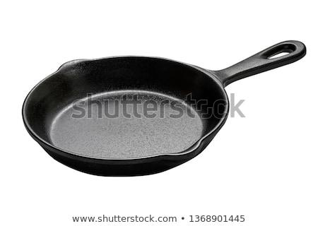 Large frying pan Stock photo © serg64