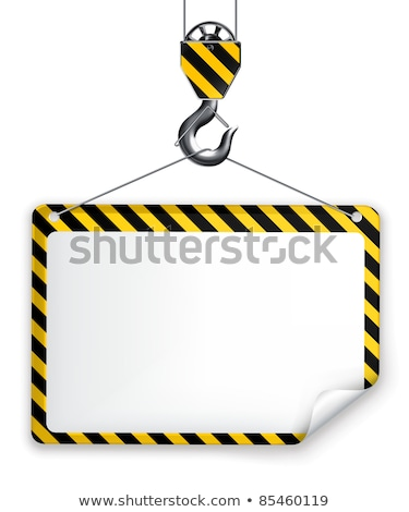 Under construction design elements in 3D, vector illustration. stock photo © kup1984