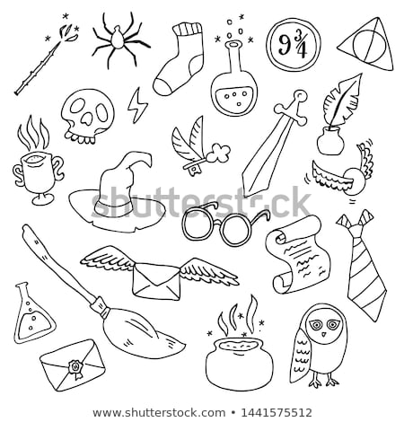 Sword icon in different style Stock photo © sidmay