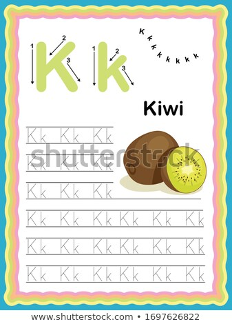 Word Starting with Letter K Stock photo © bluering