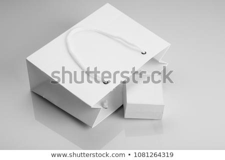 üres fehér ékszerek doboz vázlat terv Stock fotó © Akhilesh