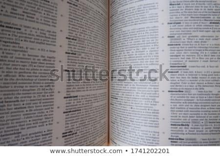 漫画 · 文字 · 開いた本 · 塗料 · 芸術 · 教育 - ストックフォト © lenm