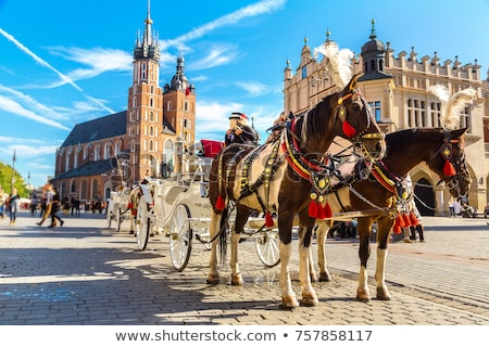 Old Town of Krakow Historic Architecture Stock photo © rognar