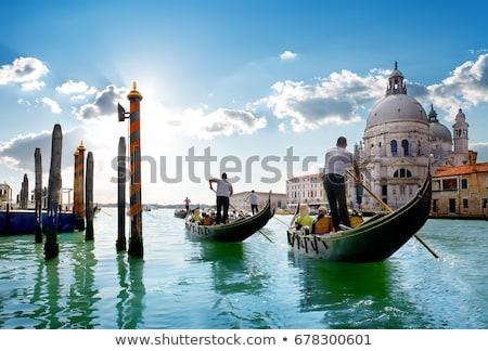 運河 · ヴェネツィア · イタリア · 日の出 · 表示 · 空 - ストックフォト © givaga