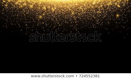 粒子 黒 ベクトル 金 デザイン ストックフォト © m_pavlov