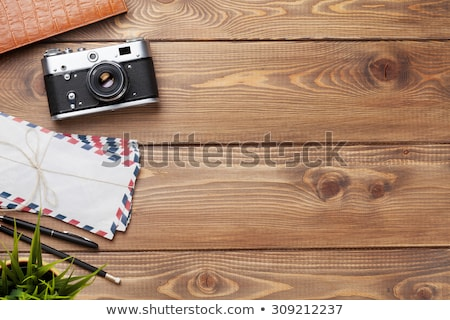 travel vacation table concept stock photo © karandaev