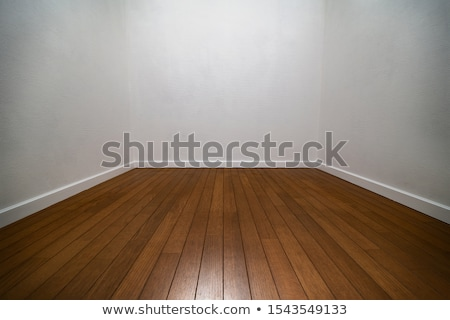 old stone wall corner and wooden floor stock photo © romvo