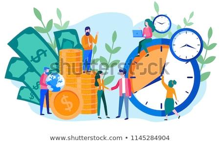 бизнеса Время-деньги деньги часы золото успех Сток-фото © makyzz