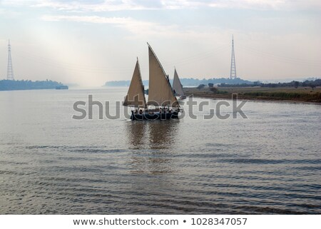 sailboats in cairo stock photo © givaga