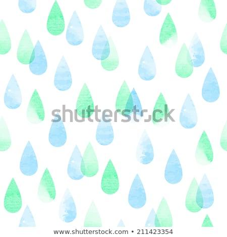 Colorido pastel lluvia blanco primavera resumen Foto stock © lemony