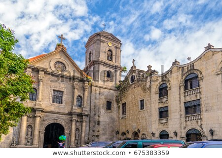 church of San Augustin Stock photo © neirfy