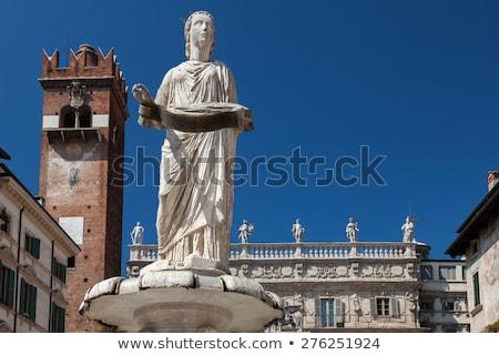 Statue of Madonna Verona Stock photo © backyardproductions
