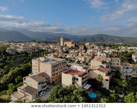 Photographie village espagnol typique ville Photo stock © amok
