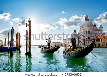 gand canal in venice stock photo © givaga