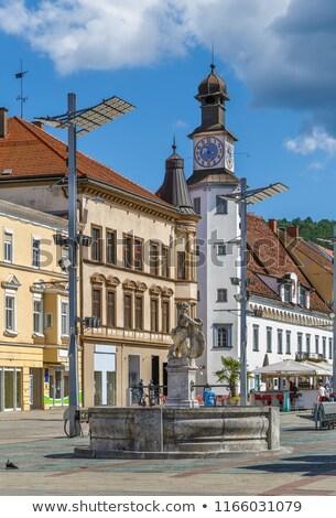 Main street in Leoben, Austria Stock photo © borisb17