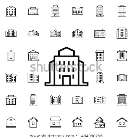 School Educational Institution Exterior Building Stock photo © robuart