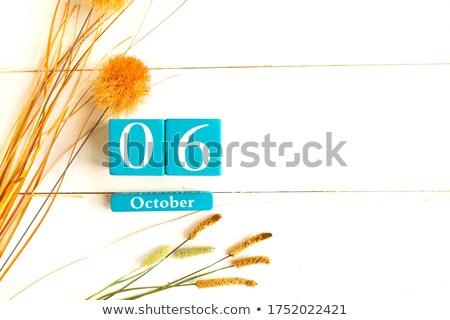 Cubes 6th October Stock photo © Oakozhan