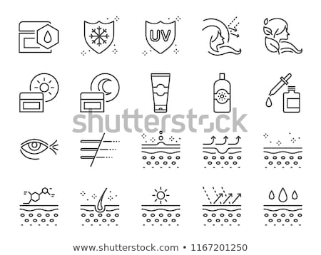 Skin care serum and gel bottle, moisturizing lotion and lifting  Stock photo © Anneleven