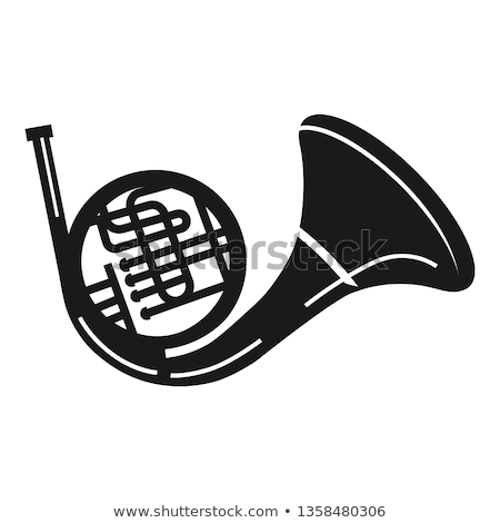 Simple trumpet Stock photo © montego