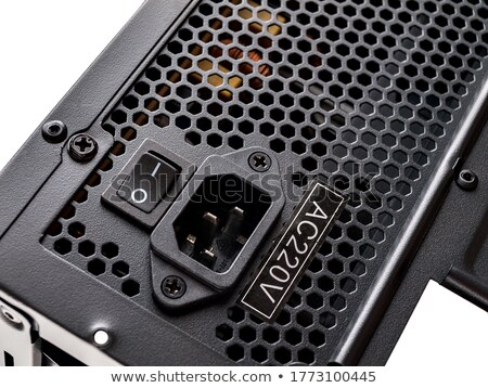 Black power supply unit Stock photo © magraphics