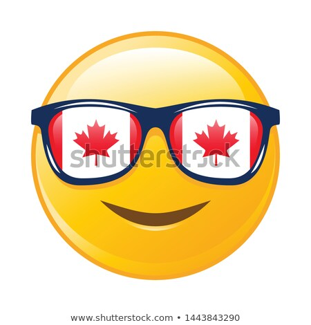 Muis blij gezicht emoticon glimlachend dier lachend Stockfoto © barsrsind