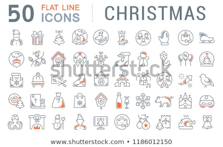 church choir icon vector outline illustration Stock photo © pikepicture