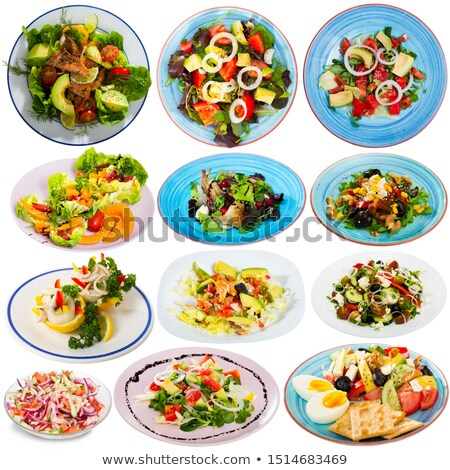 Appetizing salad Stock photo © RuslanOmega