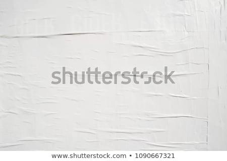 Sheet of old grunge (originally white) paper  stock photo © orson