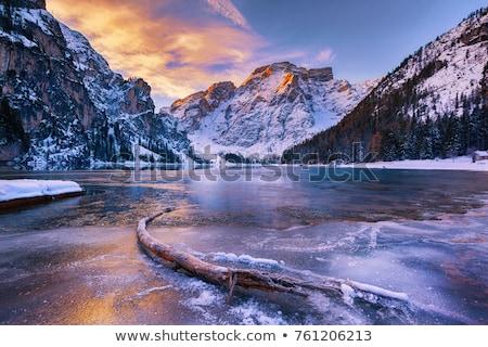 озеро Италия фортепиано мнение небе пейзаж Сток-фото © aelice
