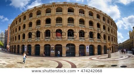 バレンシア · 詳細 · スペイン · スタジアム · 建築 · 北 - ストックフォト © aladin66