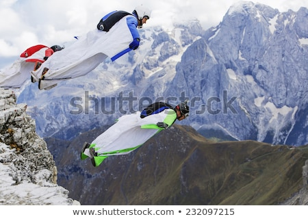 Italy parachute Stock photo © creisinger