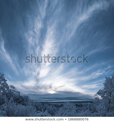 vitorlázik · tó · Svájc · Alpok · víz · természet - stock fotó © elenarts