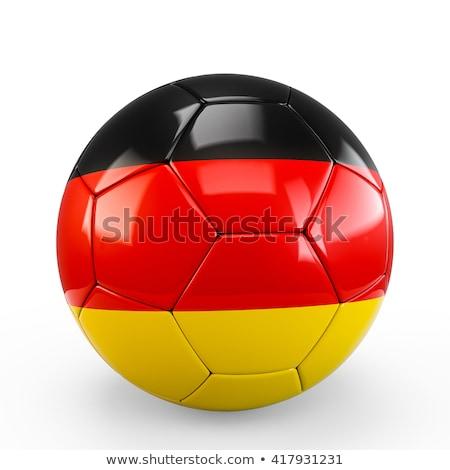 German Soccer Ball Stock photo © bestmoose