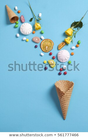 вафля · Печенье · идеальный · оба · завтрак · продовольствие - Сток-фото © zkruger