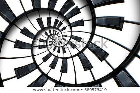 pianotoetsen · kunst · piano · zwarte · geluid · witte - stockfoto © hermione