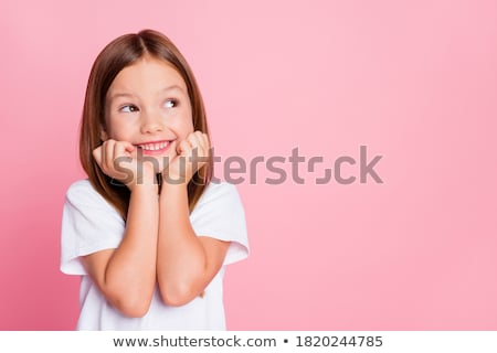 little girl pondering Stock photo © photography33