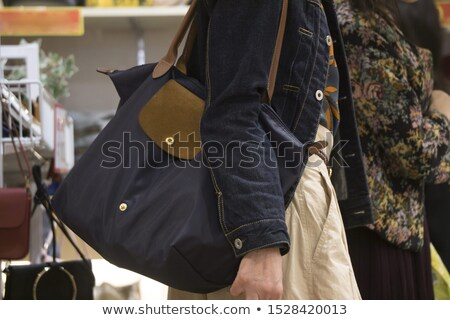 Woman with shoulder bag Stock photo © photography33