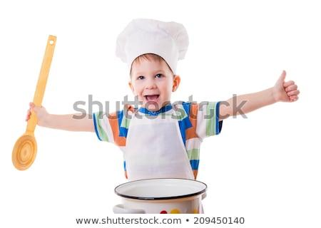 Bebek büyük nötr gıda Stok fotoğraf © gewoldi