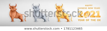 Three cows Stock photo © mobi68