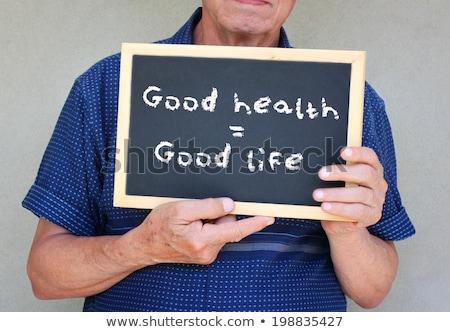 осуществлять хорошие питание равный здоровья фото Сток-фото © curaphotography